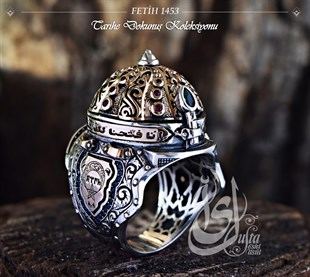 Islamic Master Conquest 1453 Silver Ring