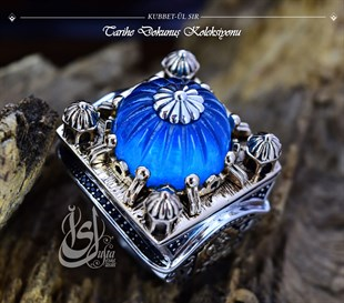 Silver Ring Islamic Master Design Kubbet-ul Gla